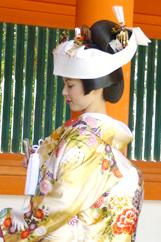 花嫁コースの様子2