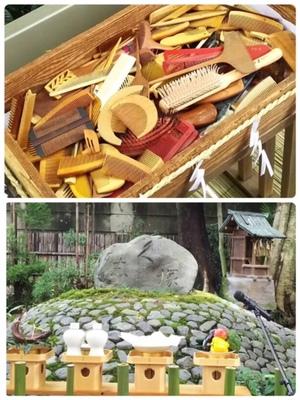 9月26日、指導師範科での校外学習にて安井金比羅宮での『櫛祭り』に行ってきました。